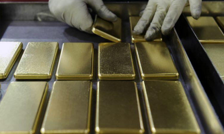 producción de oro