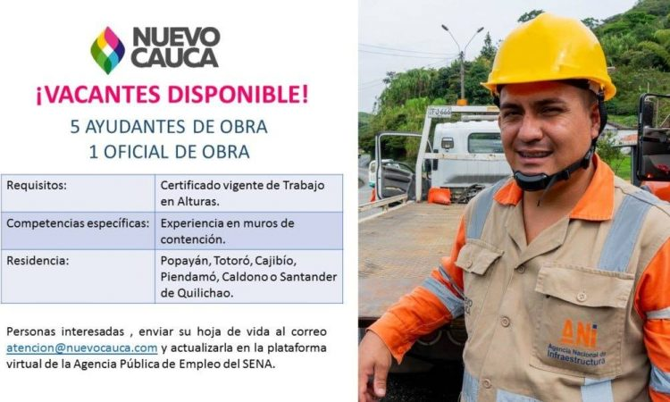vacantes disponibles